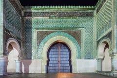 Строб Bab Mansour стоковые изображения rf