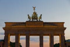 строб berlin brandenburg Стоковое фото RF