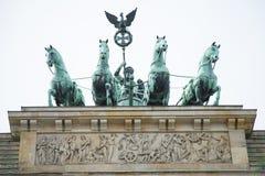 строб berlin brandenburg Стоковая Фотография