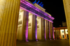 строб brandenberg berlin стоковое изображение rf