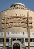 Строб Deekshabhoomi в Нагпуре, Индии стоковое изображение rf