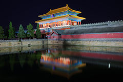 Строб Devine мог в Forbidden City Стоковая Фотография RF