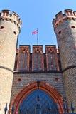 Строб Friedrichsburg - старый немецкий форт в Koenigsberg. Калининград (до Koenigsberg 1946), Россия Стоковое Фото