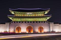 Строб Gwanghwamun в Сеуле