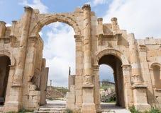 Строб Jerash ` s Hadrian Стоковое Изображение RF