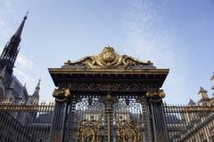 Строб ` Palais de Правосудия de Парижа ` Стоковые Фото