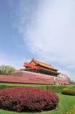 Строб Tian-An-Men, Пекин Стоковая Фотография RF