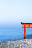 Строб Torii океана Стоковые Фотографии RF