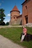 Строб Trakai. стоковые изображения rf