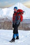 Строгие backpackers Стоковое фото RF