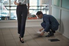 Строгий босс женщины Стоковые Фотографии RF