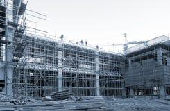 строители Стоковые Изображения RF