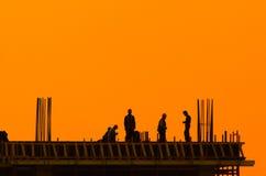 строители Стоковая Фотография RF