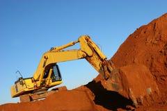 строительная машина Стоковые Изображения
