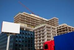 строительная площадка афиши пустая Стоковое Фото