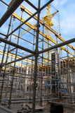 строительная площадка города Стоковые Фотографии RF