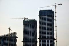 строительная площадка здания Стоковая Фотография