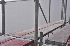 Строительная площадка - рамки - поляки и планки стоковое изображение rf