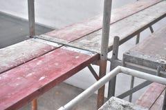 Строительная площадка - рамки - поляки и планки стоковые изображения
