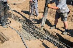 строительная площадка, учреждение положена стоковое изображение