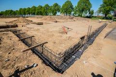 строительная площадка, учреждение положена стоковые фото