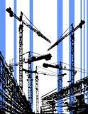 строительная площадка иллюстрация вектора