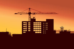 строительная промышленность Стоковая Фотография RF