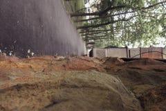 Строительная фирма строительной конструкции камней стоковая фотография rf