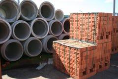 строительные материалы Стоковая Фотография
