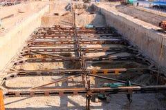 строительные площадки Стоковое фото RF