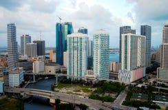 Строительный бум Майами Флориды Стоковое Изображение