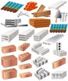 строительный материал иллюстрация вектора