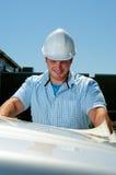 строительный подрядчик Стоковые Фото