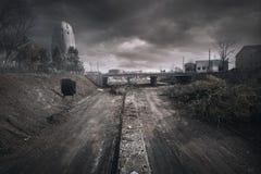 Строительство дорог Уинстон-Сейлем стоковая фотография