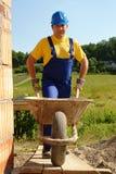строитель кургана стоковое фото