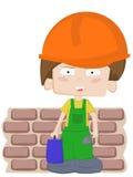 строитель мальчика немногая Стоковые Фото