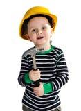 строитель мальчика немногая Стоковые Изображения
