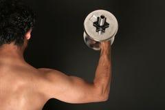 строитель тела мышечный Стоковое фото RF