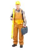 строитель стоковая фотография rf