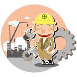 строитель Стоковое Изображение RF