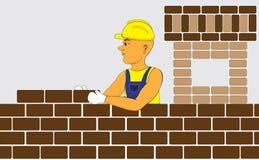 строитель Стоковые Изображения RF