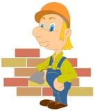 строитель Стоковая Фотография