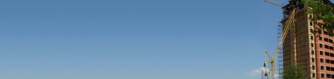 Строительная конструкция знамени Стоковые Фотографии RF