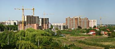 Строительная площадка в krasnodar Стоковая Фотография