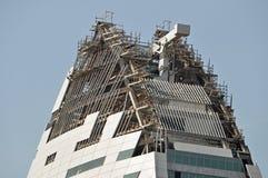 Строительная площадка небоскреба Стоковое Изображение
