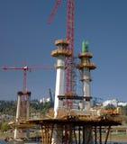 Конструкция нового моста Портленда ИЛИ. Стоковые Изображения