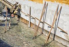 Строительная площадка, строительная техника Стоковые Фото