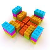 Строительные блоки Стоковые Фото