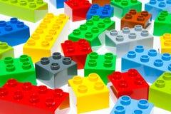 Строительные блоки Lego Стоковое фото RF