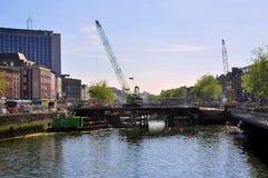 Строительство моста Стоковая Фотография RF